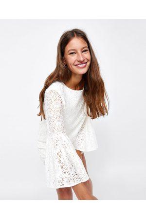 zara hvid kjole