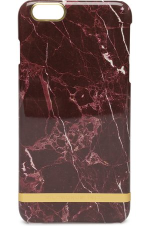 Richmond & Finch Red Marble Glossy Iph 6plus Mobilaccessory