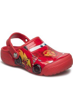 Crocs Børn Klipklapper - Funlab Cars Clog Shoes Flip Flops & Water - Bathing Shoes Rød