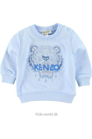 Kenzo Sweatshirts - Sweatshirt - Lyseblå m. Tiger