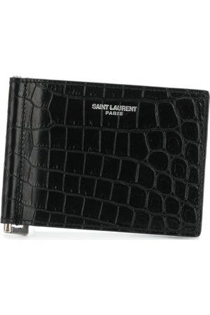 Saint Laurent Logo cardholder wallet