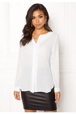 Vila Kvinder Skjorter - Lucy L/S Shirt White XL