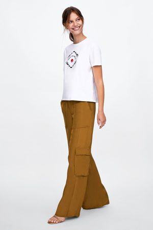 Zara Skjorter - T-SHIRT MED PRINT