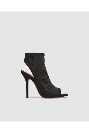 424eace8ef12 Zara stof kvinder sko
