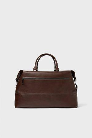 Zara SMART BROWN BOWLING BAG