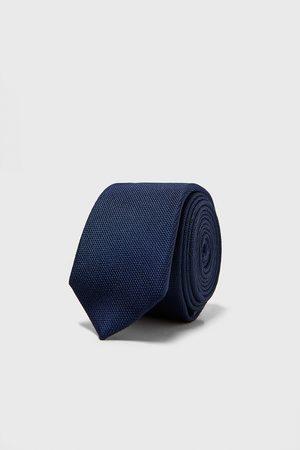 Zara Smalt, strukturvævet slips