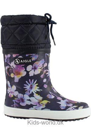 Aigle Termostøvler - Giboulee - Dark Flower