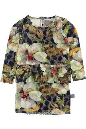 Creamie Kjoler - Kjole - Blomstret m. Glimmer
