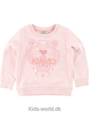 Kenzo Sweatshirts - Sweatshirt - Rosa m. Tiger