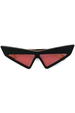 Gucci Futuristic-solbriller med nitter