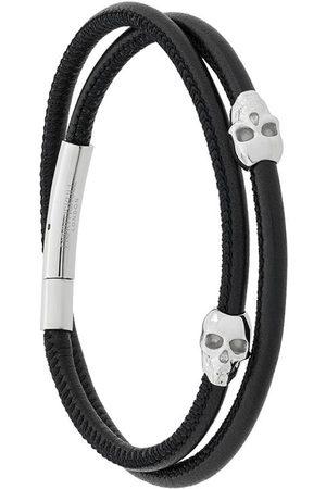 NORTHSKULL Wrap-armbånd med dødningehoveder