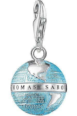 Thomas Sabo Kvinder Halskæder - Charm Pendant Globe Halskæde Hængesmykke Blå