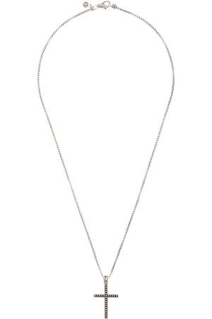 John Hardy Classic Chain Javan-halskæde i sølv med korsvedhæng