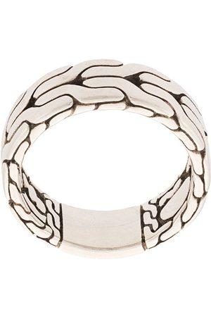 John Hardy Classic Chain-fingerring i sølv