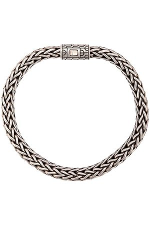 John Hardy Classic Chain-armbånd med flad kæde i sølv