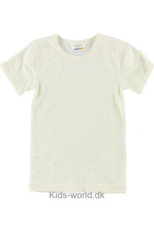Joha Kortærmede - T-Shirt - Uld - Creme