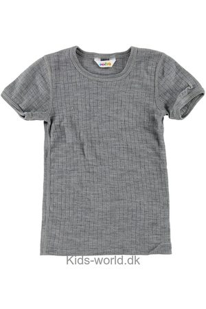 Joha T-Shirt - Uld - Gråmeleret