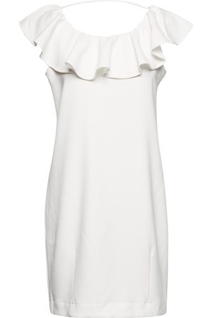 Designers Remix Olena Dress Kort Kjole Creme