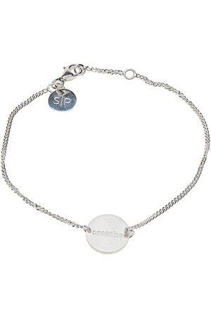 syster P Kvinder Armbånd - Minimalistica Breathe Bracelet Silver Accessories Jewellery Bracelets Chain Bracelets