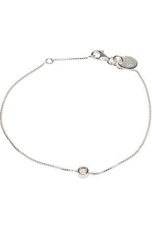 syster P Minimalistica Solo Bracelet Silver Crystal Accessories Jewellery Bracelets Chain Bracelets