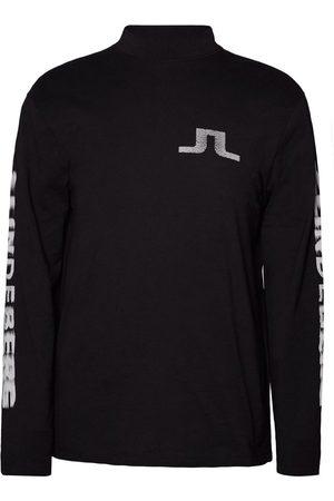 J Lindeberg Long Sleeved Top Junip Logo Rips Cotton
