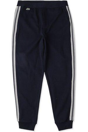 Lacoste Mænd Joggingbukser - Sweatpants med logo og lodrette striber