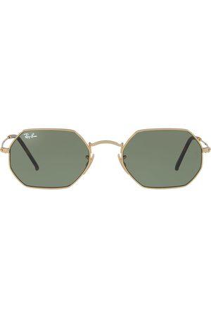 Ray-Ban Octagonal Flat Lenses-solbriller