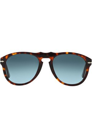 Persol Runde solbriller med skildpaddeskjold-effekt