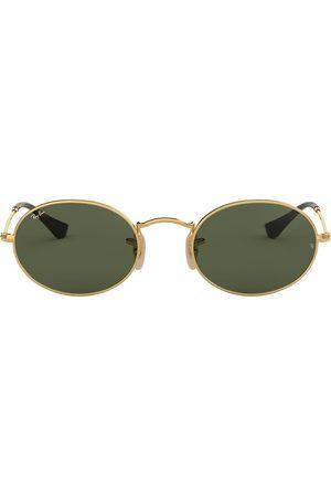 Ray-Ban Oval Flat Lenses-solbriller