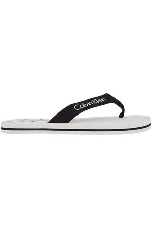Calvin Klein Logo Slippers