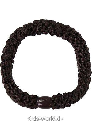 Kknekki Håraccessories - Elastik - Mørkebrun