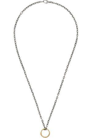Gucci Halskæde med slange-ring-vedhæng
