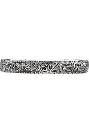 Gucci Mænd Armbånd - Bracelet in silver with feline head