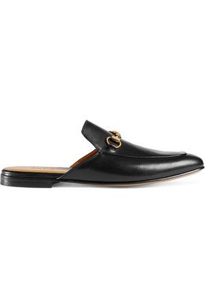 Gucci Mænd Tøffler - Leather Horsebit slipper