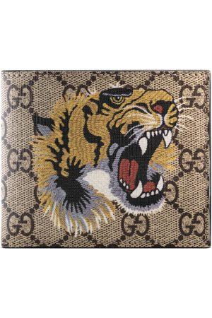 Gucci Mænd Punge - Tiger print GG Supreme wallet
