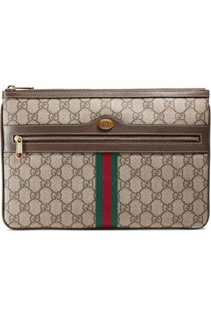 Gucci Kvinder Clutches - Ophidia GG Supreme pouch