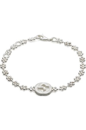 Gucci Interlocking G bracelet in silver