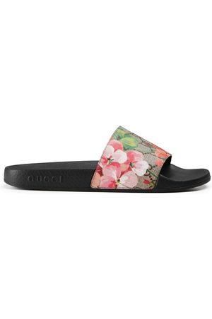 Gucci Kvinder Sandaler - GG Blooms Supreme slide sandal