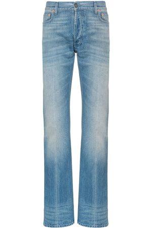 Gucci Web-jeans med lige ben og kantudsmykning
