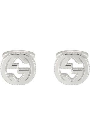 Gucci Mænd Halskæder - Interlocking G cufflinks in silver