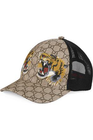 Gucci Mænd Hatte - Tigers print GG Supreme baseball hat