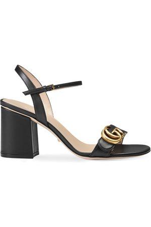 Gucci Kvinder Sandaler - Leather mid-heel sandal