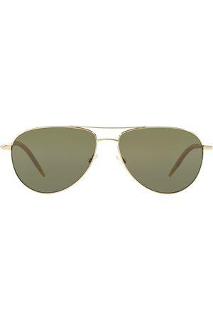 Oliver Peoples Klassiske aviator-solbriller