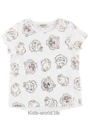 Kenzo Kortærmede - T-shirt - m. Rosa Bronze Tigere