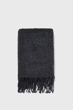 Zara Halstørklæde med frynser