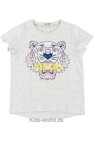 Kenzo Kortærmede - T-shirt - Gråmeleret m. Tiger