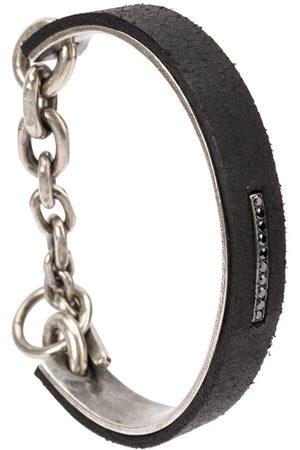 TOBIAS WISTISEN Cuff-armbånd med diamantudsmykning