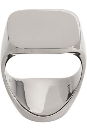 Maison Margiela Firkantet armour-ring