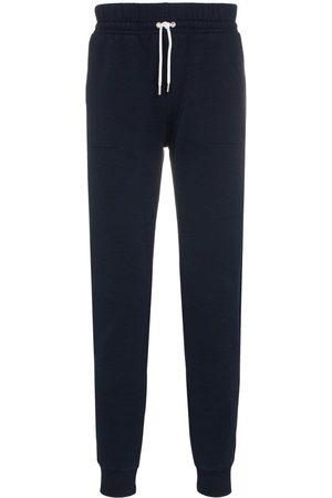 Maison Kitsuné Trefarvet joggingbukser i bukser med ræve-mærke