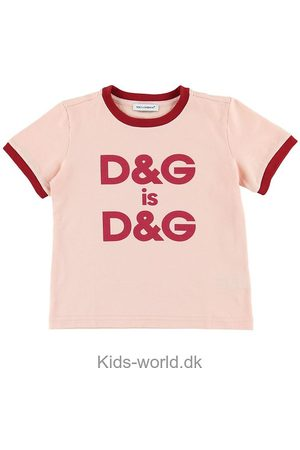 Dolce & Gabbana Kortærmede - T-shirt - Lys /